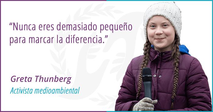Greta Thunberg-Marcar la diferencia